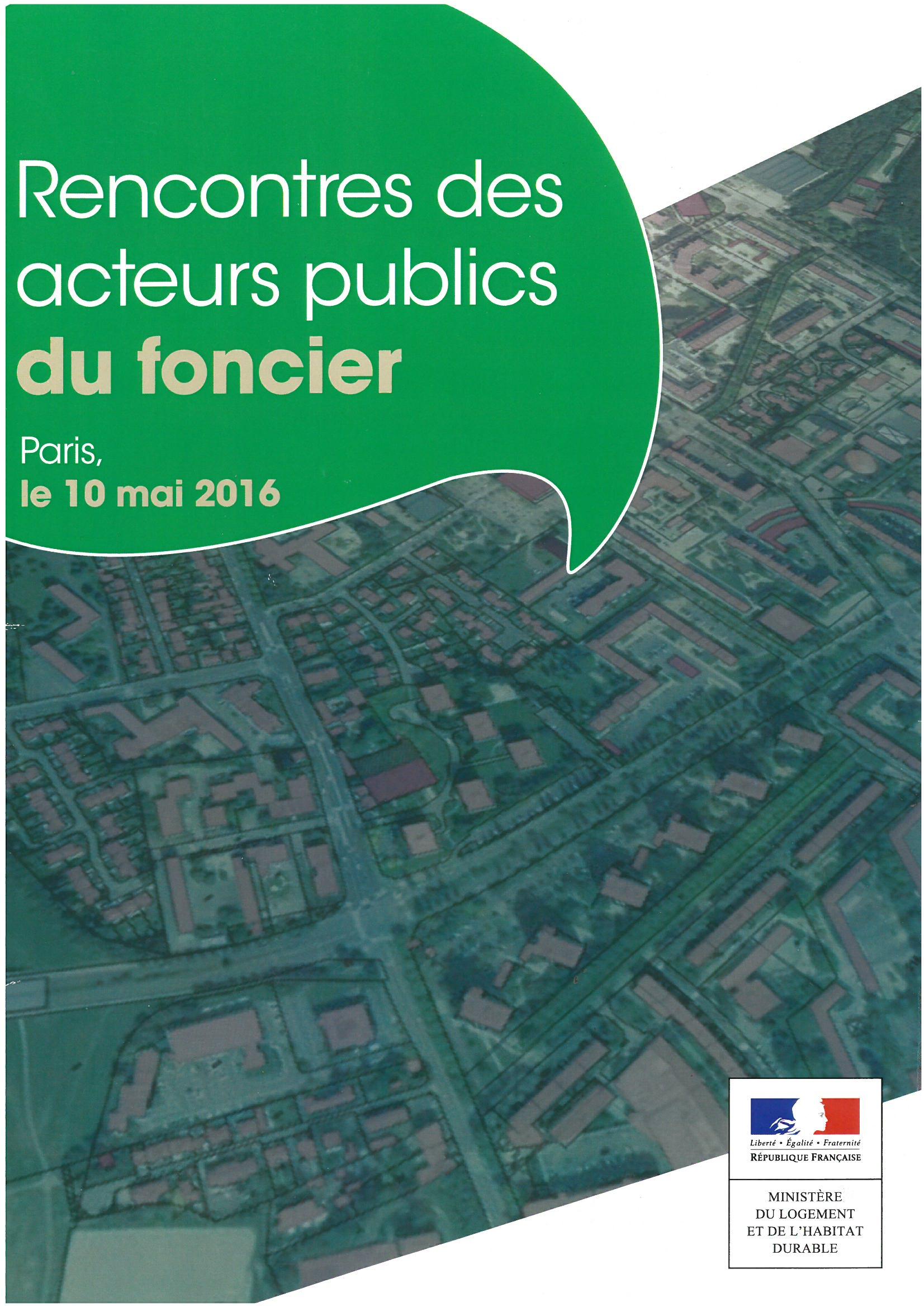 Rencontre acteurs publics 2016