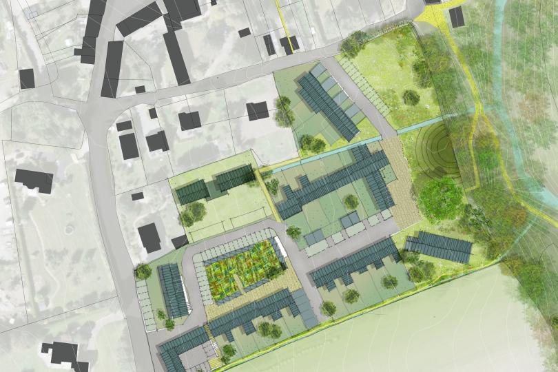Maîtrise d'œuvre urbaine pour le prolongement du bourg historique de Plessix-Balisson