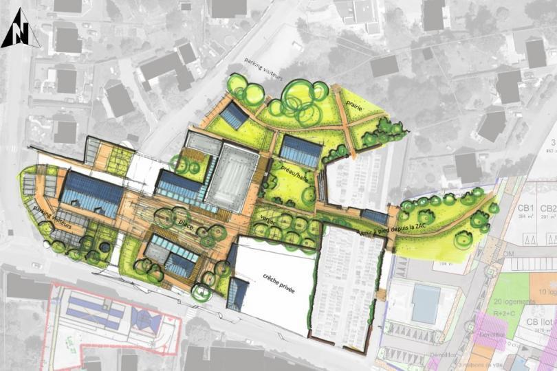 Étude de programmation urbaine pour l'aménagement du centre bourg