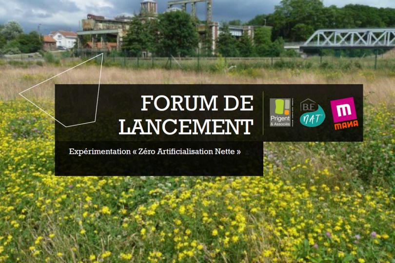 Forum de lancement de l'étude ZAN