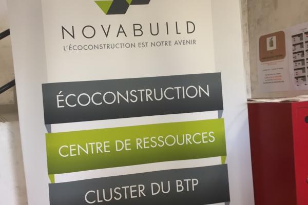 Cluster Novabuild: l'écoconstruction est notre avenir