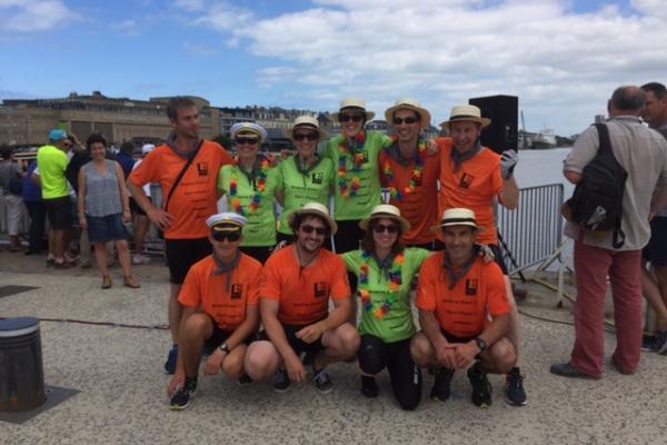 Prigent & Associés remporte le Challenge inter-entreprises d'aviron de mer 2017 !