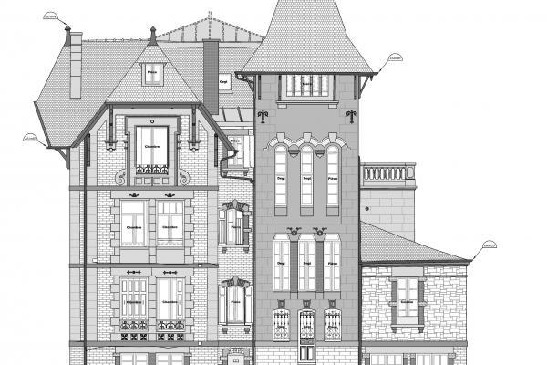 Relevé d'architecture