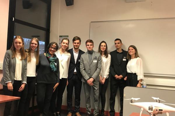 Participation de Prigent & Associés à l'opération Créa-IUT de l'université de Rennes