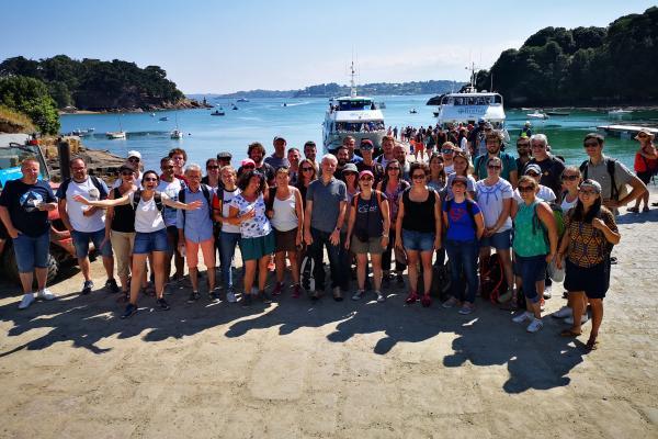 Prigent & Associés organise sa sortie d'entreprise à l'ile de Bréhat