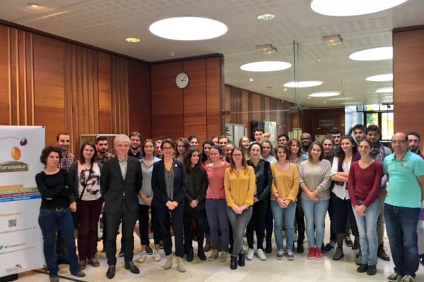 Xavier Prigent, parrain du Master stratégie de développement durable et périurbanisation (ERPUR) de l'Université Rennes1