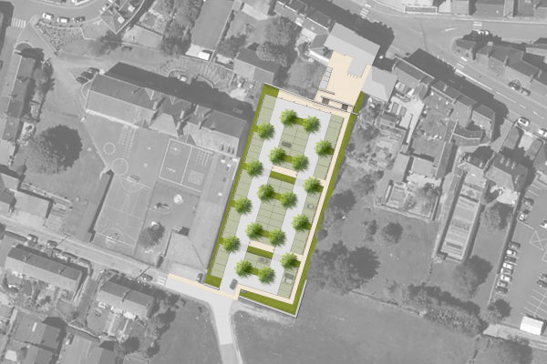 Étude de circulation pour le cœur de bourg et faisabilité d'aménagement de 3 parking