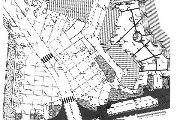 Etablissement de plan topographique