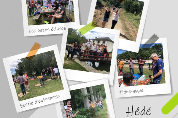 Prigent & Associés organise sa sortie d'entreprise à Hédé-Bazouges